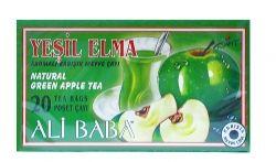 Турски чай Зелена ябълка филтър с конец 20бр.