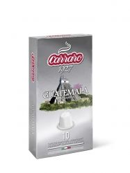 Carraro Капсули кафе Single Origin Guatemala 10x5.2 гр.(съвместими с Неспресо)
