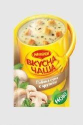 Инстантна супа MAGGI Гъбена с крутони