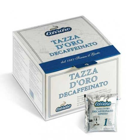 Carraro безкофеиново кафе на дози