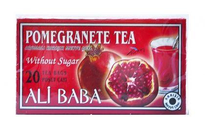 Турски чай Нар филтър с конец 20бр. х 2гр.