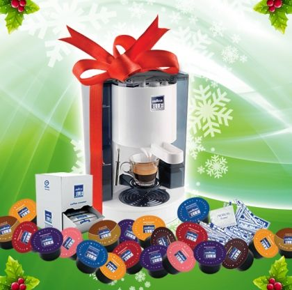 Промоционален пакет Lavazza BLUE -- перфектна кафе машина и най-доброто еспресо във вашия дом или офис!