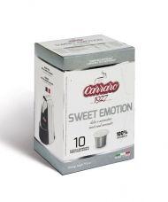 Carraro Капсули кафе Sweet Emotion 10х5.2гр (съвместими с Неспресо)