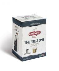 Carraro Капсули кафе The First One 10х5.2гр (съвместими с Неспресо)