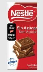 Испански шоколад 125 гр. млечен без захар - NESTLE